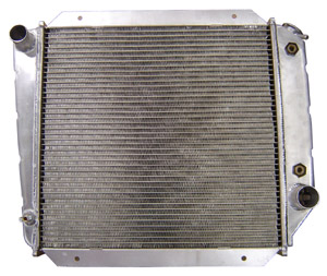 Radiator - V8, Aluminum, Automatic, Super HD, 66-77 Early Ford Bronco