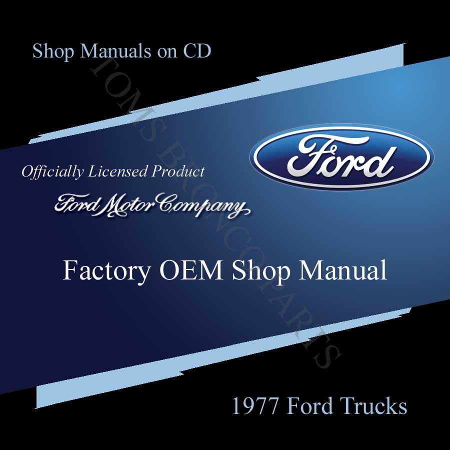 1974 ford bronco shop manual free cd. Black Bedroom Furniture Sets. Home Design Ideas
