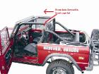 "Interior Bar - Front Cage Kit - 2"" Tubing, 120 Wall, 66-77 Early Ford Bronco, New"