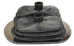 Twin Stick Shift Boot - J-Style or T-Style, 66-77 Ford Bronco, New