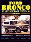 Bronco History Manual, 66-77 Ford Bronco, New