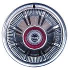 Hub Cap - Rear, 66-77 Early Ford Bronco, New (each)**