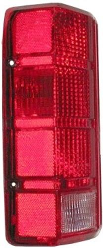 Driver Side Tail Light Lens, 80-86 Ford F-150/F-250/F-350/Bronco