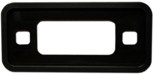 Billet Black Aluminum Side Marker Lens Trim Bezel, 70-77 Ford Bronco, *New Item*