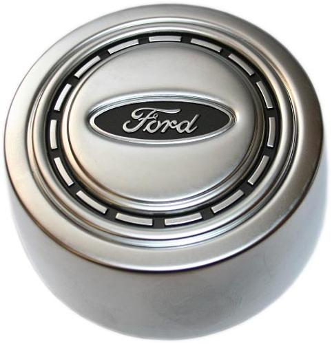 OE Style Factory Horn Button, Argent Silver, New, 66-73 Ford Bronco