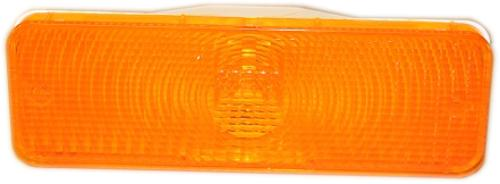 Amber Front Turn Signal Lens, 1980-1986 Ford Bronco