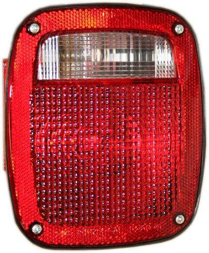 Tail Light Lens, Driver, 77-90 F150 Flareside, New