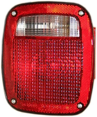 Tail Light Lens, Passenger, 77-90 F150 Flareside, New