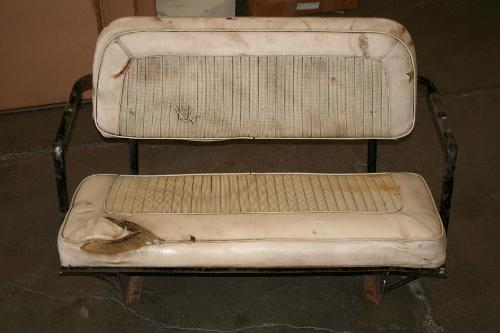 Rear Bench Seat - Factory, 66-77 Ford Bronco, Used #1