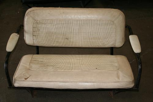 Rare Rear Bench Seat - Factory, 1966 Bronco, Used #5