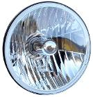 H4 Halogen Conversion Headlight, 66-77 Ford Bronco, New, each