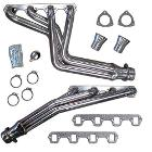 Headers - V8, STAINLESS STEEL, 66-77 Early Ford Bronco, New (fits 289, 302 & 351w)