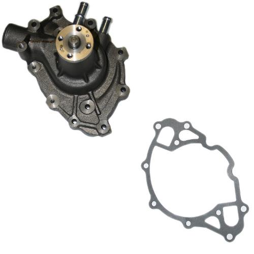 Stock Cast Steel Water Pump, V-8, NEW,  1966-1977 Early Ford Bronco