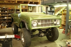 Jake\'s 1973 Early Bronco Build-Up