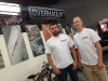 Jake and Matt from Tom's Bronco Parts at the Overhaulin' set