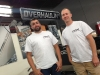 Jake and Matt from TBP at the Overhaulin' set
