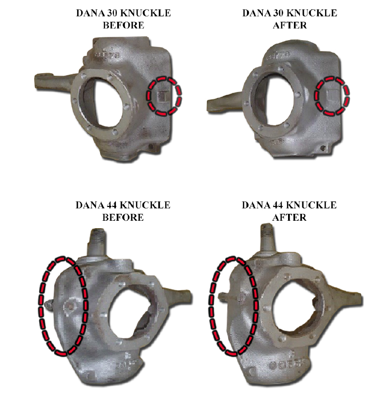 Dana Knuckle Before After