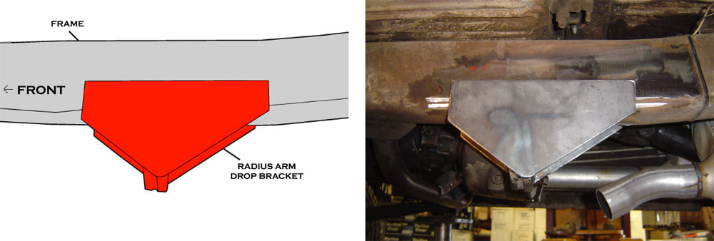 Extended Radius Arm Mounting Brackets Installation - Toms Bronco Parts